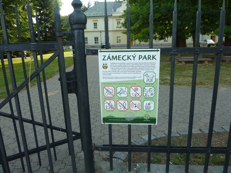 Vrchlabí, zámecký park