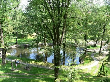 Bran – park at the castle