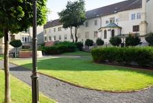 Františkánska kláštorná záhrada
