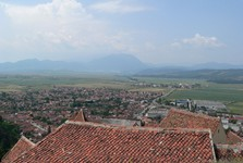 Râșnov – the view from the castle