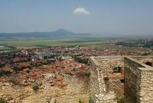 Râșnov – pohled z hradu