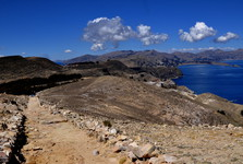 hlavná trasa cez Isla del Sol