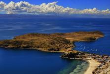 polostrov Huayran Khala na Isla del Sol