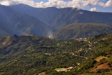 oblast Yungas s vesnicí Cruz Loma
