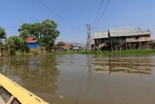 vesnička na vodě