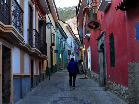 stylová ulice Jaén