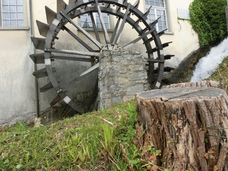 working water mill