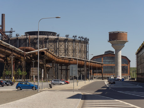 Gong a vodárenská věž