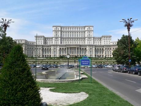 Bukurešť - Palatul Parlamentului (Palác Parlamentu)