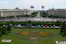 Bukurešť - Palatul Parlamentului (Palác Parlamentu) - pohľad