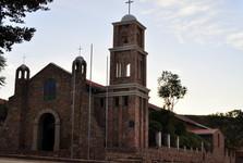 katolický kostel v Torotoro