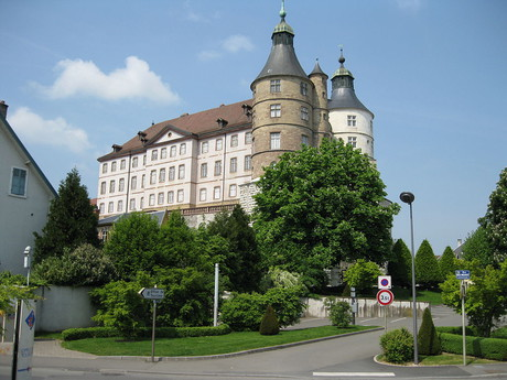 замок Монбельяр