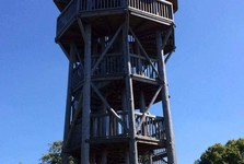 the observation tower on Krahulsky hill
