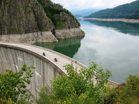 Transfagarasan – Vidraru dam