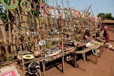 masajské suvenýry