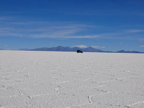 Salar de Uyuni – bílá poušť