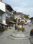 náměstí v Gruyéres