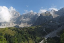 southern slopes of Dachstein