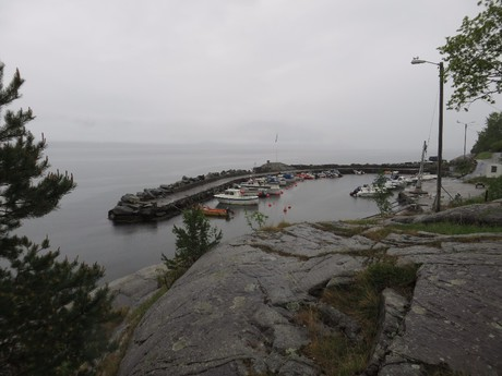 the small port in Alvik
