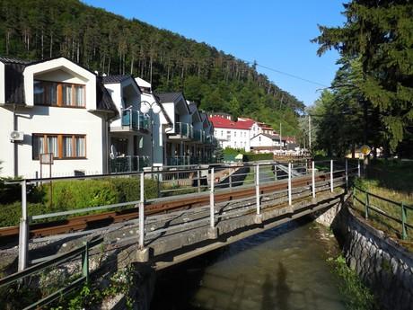 Trenčianske Teplice - potok Teplička