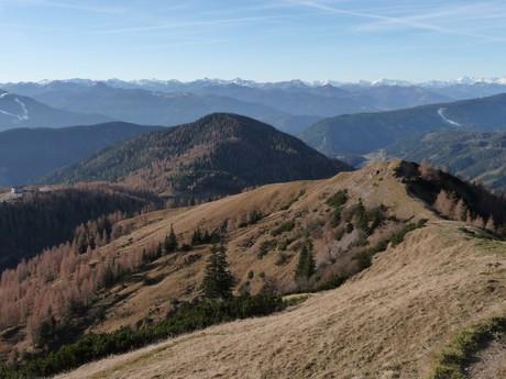 cesta na jih ze Südwand Hütte