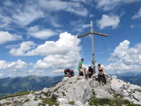 vrchol Donnerkogel