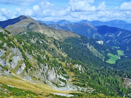 výhled z hory Lattenberg