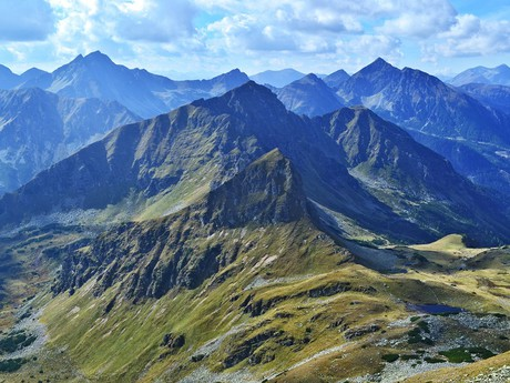 альпийский пейзаж Зеккауэр Тауэрна