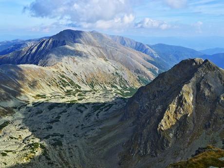 массивный Хохрайхарт - вторая по высоте гора массива