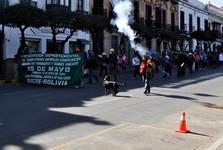 demonštrácia na námestí