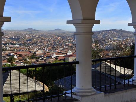 výhled na Sucre
