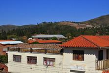 vesnice Samaipata, na kopci vinařství 1750