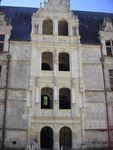 Замок Азе-лё-Ридо – лестница