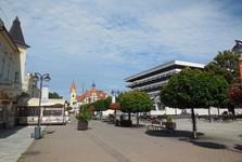 Trenčianské Teplice – pedestrian zone