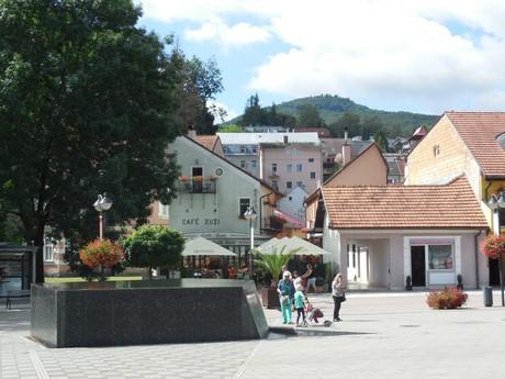 pedestrian zone (fountain)