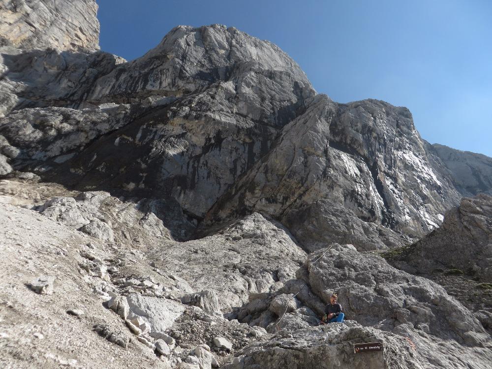 Klettersteig Rakousko : Rakousko dachstein: der johann u2013 a long klettersteig on the steep