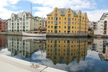 Ålesund town
