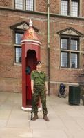 na zámku Rosenborg