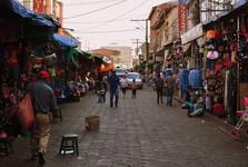 na santacruzské tržnici