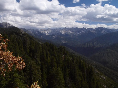 hory pohoří Sierra Nevada