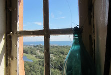 výhled z majáku na Isokari