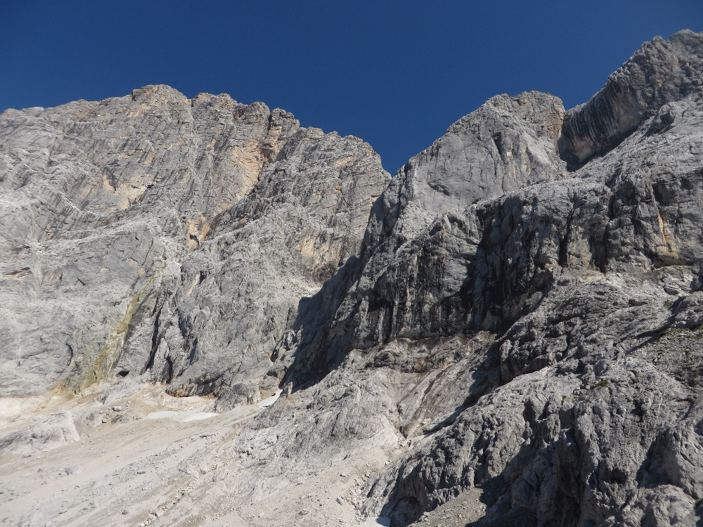 Klettersteig Johann Dachstein : Austria dachstein: der johann u2013 long klettersteig along steep