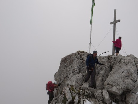 konec klettersteigu St. Johann