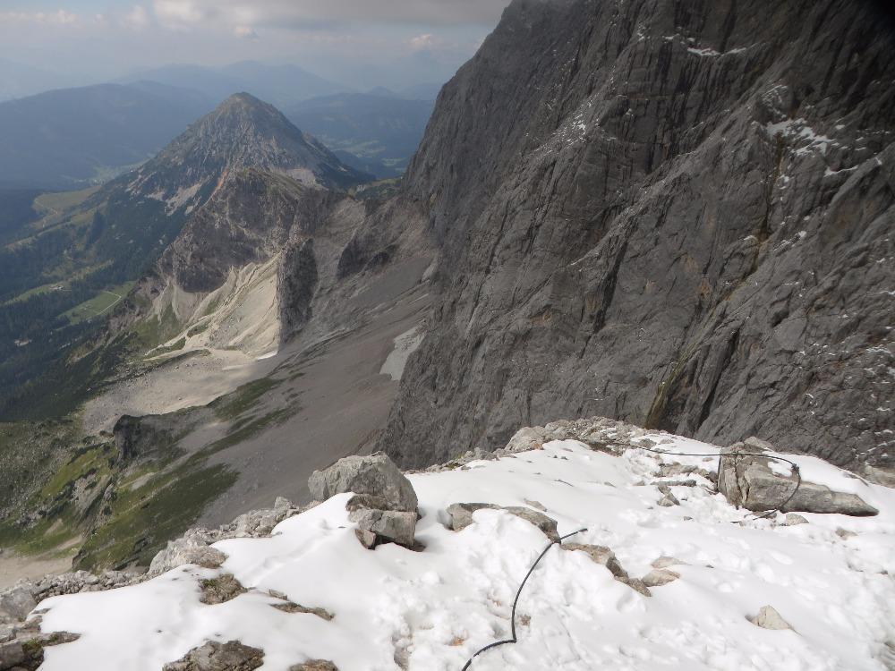 Klettersteig Johann : Schulter klettersteig dachstein hallstatt mapio