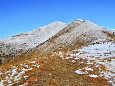 the southern ridge of the West Tatra