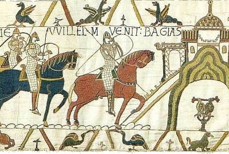 a part of Bayeux tapestry