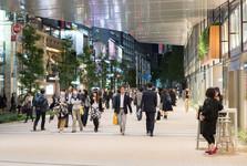 nákupy v Tokiu