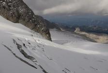 опасные ледниковые трещины
