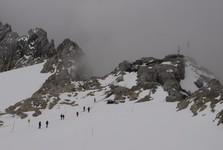 pohled na chatu Seethalerhütte