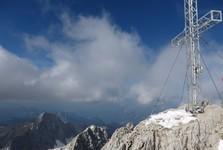вершинный крест на вершине Hoher Dachstein